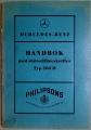 Mercedes-Benz 180 D instruktionsbok 1954