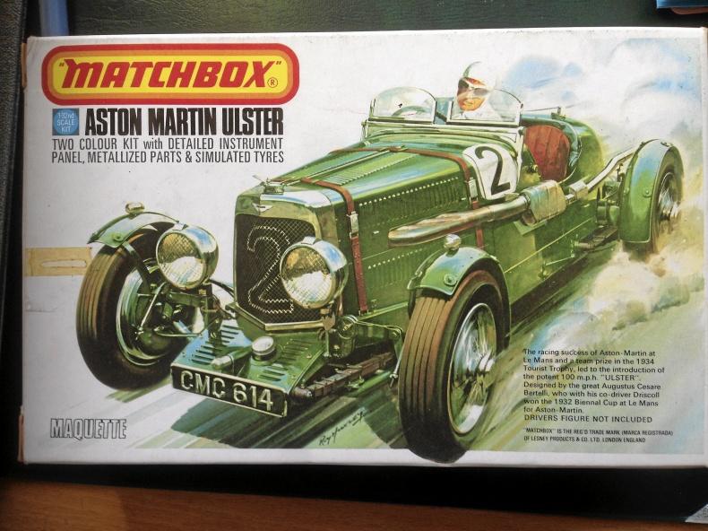 Plastmodell Aston Martin Ulster 1:32