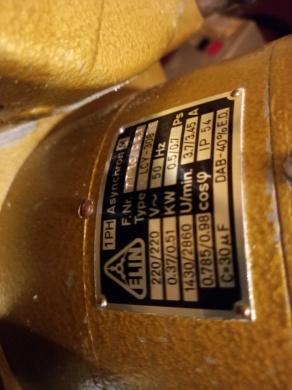 Träsvarv Emcostar Typ LCY308 220 volt