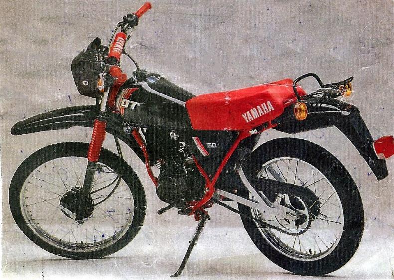 Yamaha DT 50MX