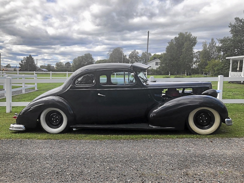 Hottad Packard Coupe