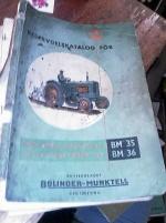 RESERVDELSKATALOG BM 35-36