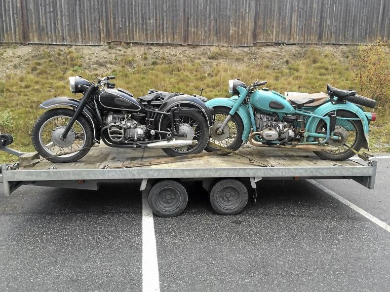 Ryska motorcyklar