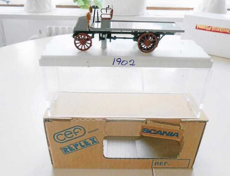 Scania Lastautomobil 1902