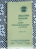 Ersatzteil Katalog Fuchs FM40 S