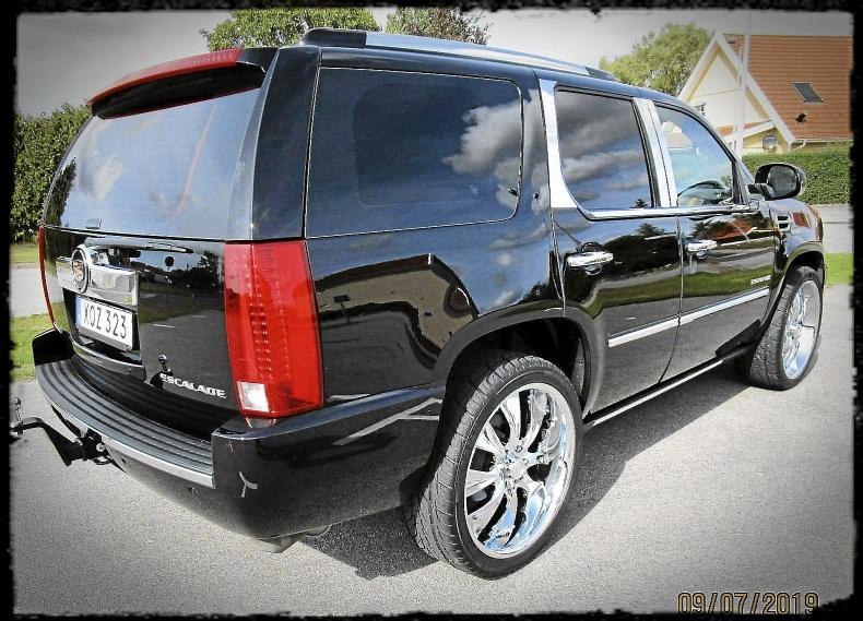 Exl. Cadillac Escalade Luxury premium 409 Hk
