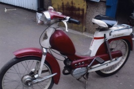 Moped Crescent Raket