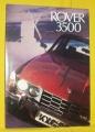 Broschyr Rover 3500 1974