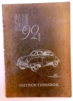 Saab Instruktionsbok