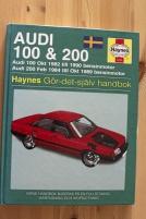 Handbok Audi 100 - 200