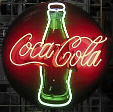 Neonskylt Coca Cola