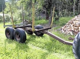 Timmervagn