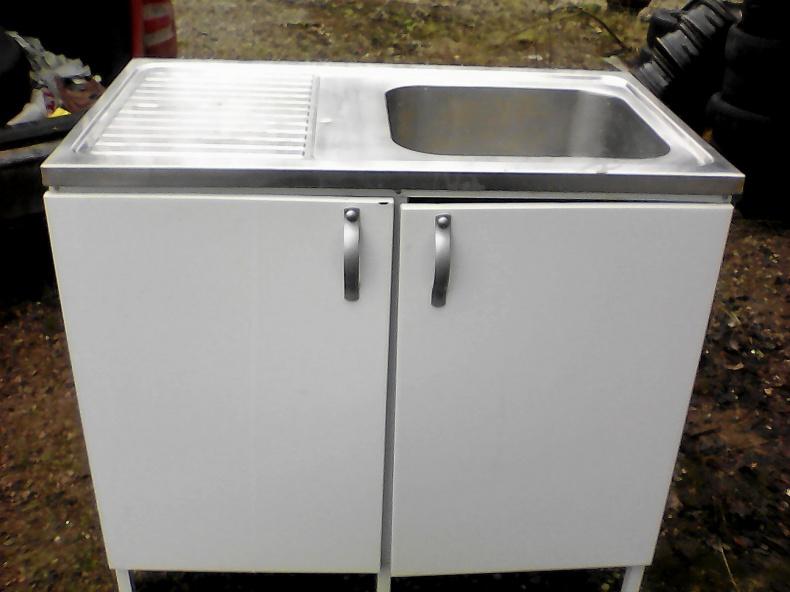 Tvättbänk och diskbänksplåt