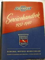 Chevrolet servicehandbok/Verkstadshandbok.