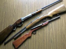 Äldre gevär säljes!