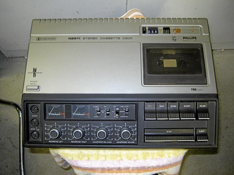 Philips Stereo Cassette Deck