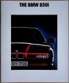 Broschyr BMW 850i i storformat