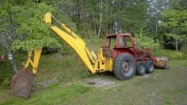 MF Massey Ferguson Halvbandare Traktorgrävare