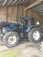 New Holland TM115 Med frontlastare Trima +5.0P