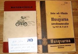 "Bok ""Motorcykeln"" 1953"