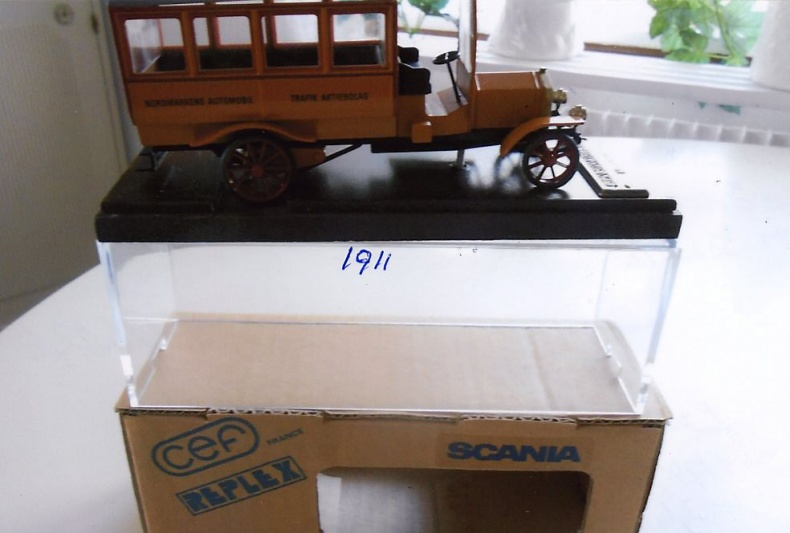 Scania-Vabis Omnibus Nordmarken 1911
