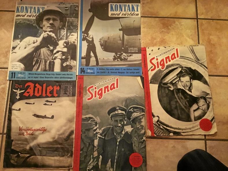 Tidningar från andra världskriget