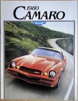 Broschyr Chevrolet Camaro 1980