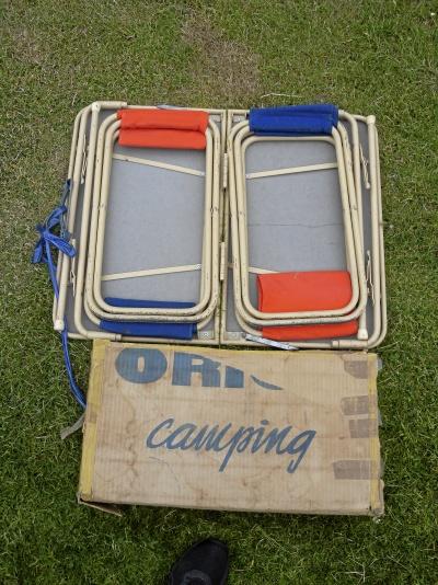 Campingbord,troligen 50-tals