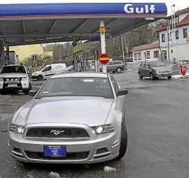 Strålkastare Xenon till Ford Mustang 2013-14