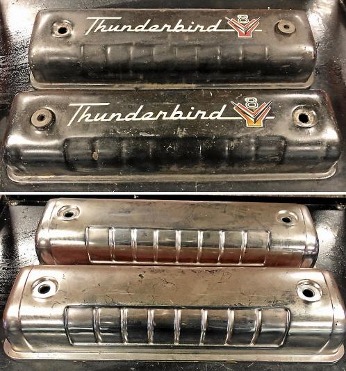 Ford Thunderbird ventilkåpor