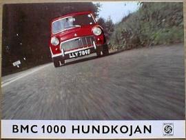 Broschyr BMC 1000 Hundkoja 1969