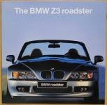 Broschyr BMW Z3 roadster i 1995/1996