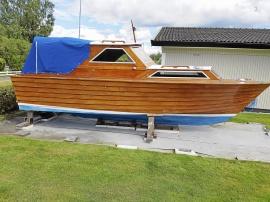 60-tals Mahognybåt
