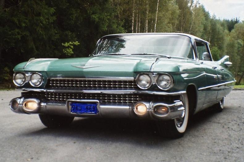 Kilometerskalor, Cadillacdelar 58-60