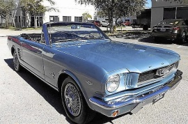 FORD MUSTANG GT CABRIOLET
