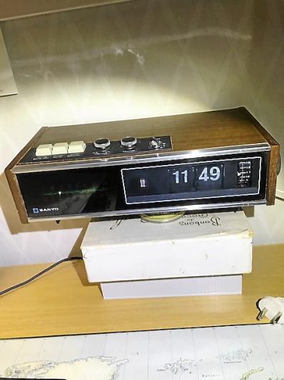 Klockradio från 1972