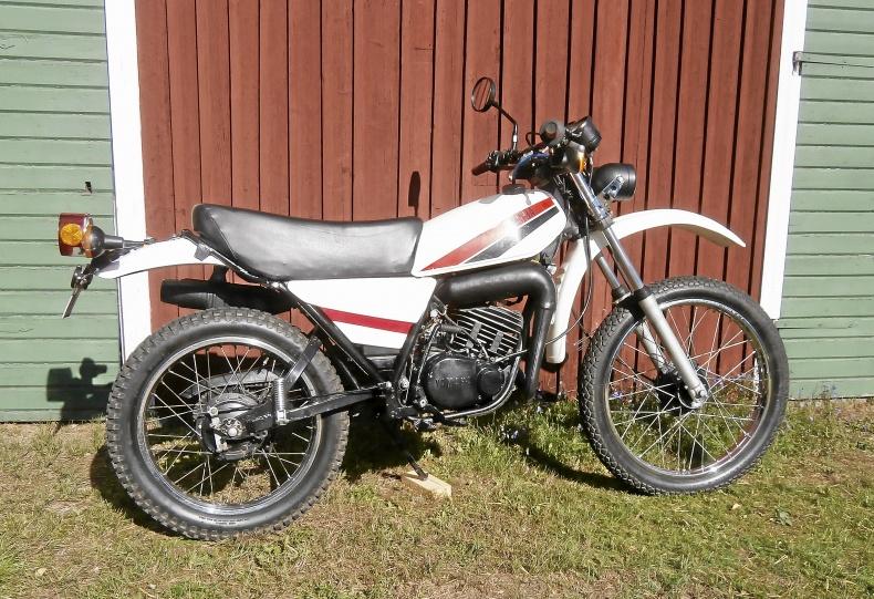 Yamaha DT 125 MX enduro