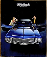 Broschyr Chevrolet Impala Caprice Bel Air 1970