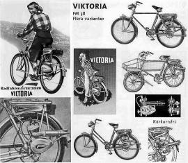 Viktoria motor 38cc modell M38