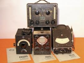Nostalgi - radioservice - mätinstrument