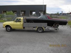 Chevrolet tungreg. för fordonstransport