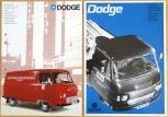 Broschyrer Dodge K160 Pickup buss skåp- lastvagn 1966/67