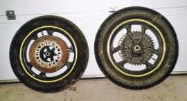Hjul till Kawasaki GPZ -86