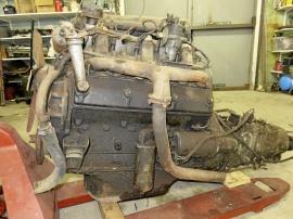 Rover 90 1954 motor