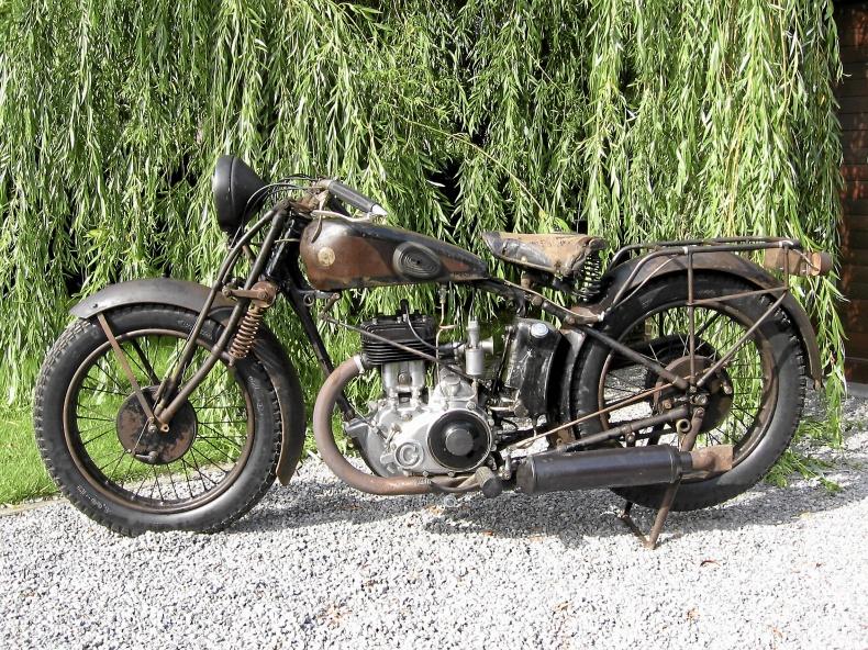 Veteranmotorcykel