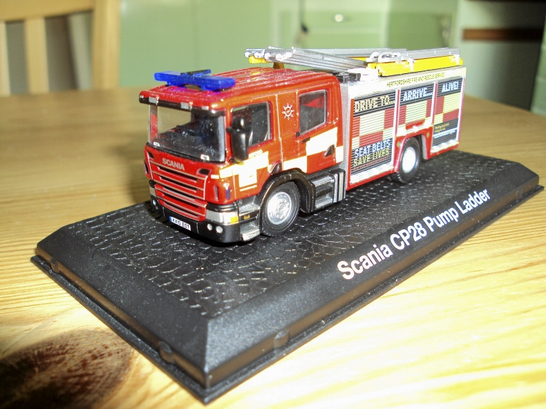 Scania CP28 Pump Ladder i skala 1:72?