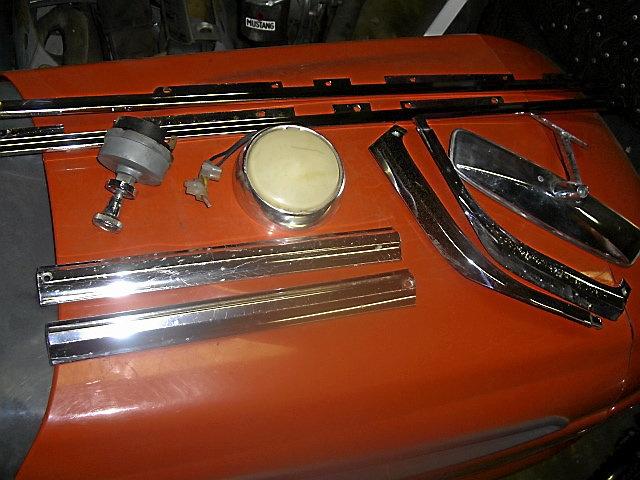 Dodge Dart GT -66 delar.