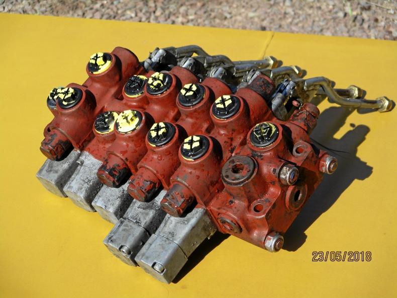 Nordhydraulic ventilpaket