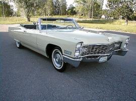 Cadillac De Ville Convertible