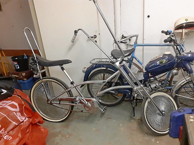 Choppercykel